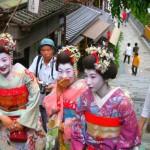 Japão e as suas ruas cheias de cor e tradições