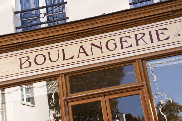 Vitrine de boulangerie - France