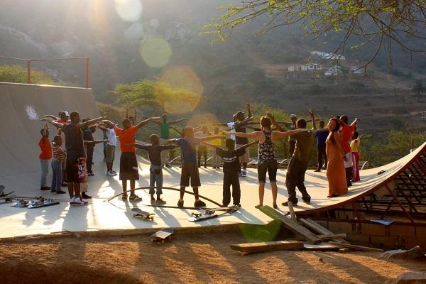 vidaedu voluntariado internacional skate criancas africa sul