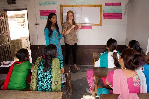 vidaedu voluntariado internacional women empowerment nepal