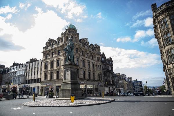 vidaedu curso ingles Edinburgh - Street scene escocia