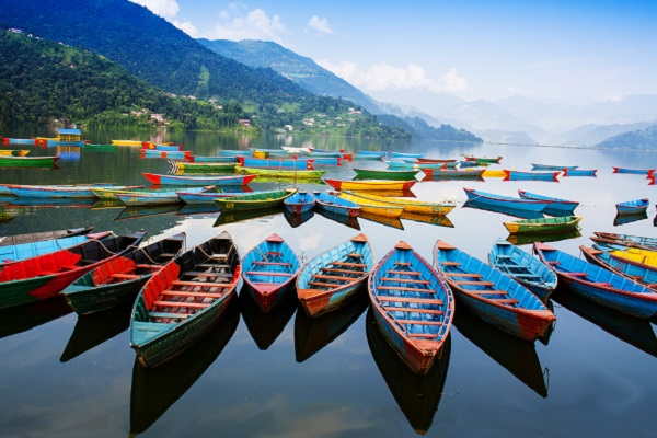 vidaedu viajar voluntariao internacional lago pokhara nepal