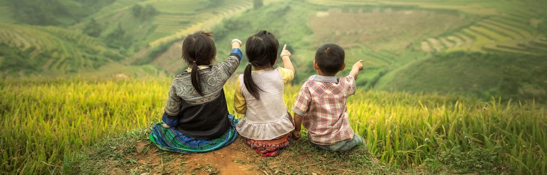 Social com Crianças no Vietname