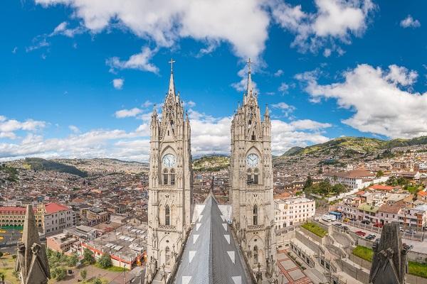 vidaedu voluntariado viajar basilica del voto quito equador