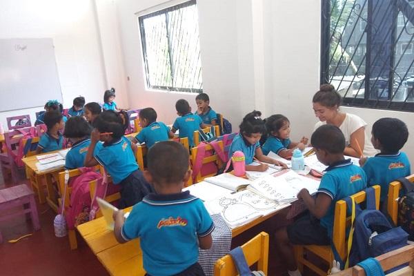 vidaedu voluntariado ensinar ingles criancas sri lanka
