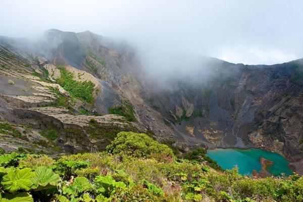 Costa Rica, Irazu Volcano