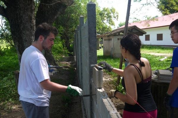 vidaedu voluntariado construcao comunitaria asia laos