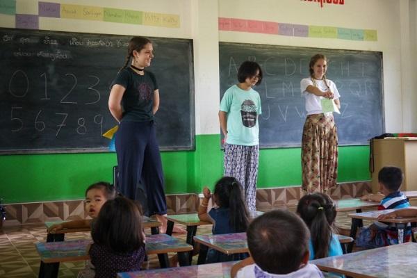 vidaedu voluntariado criancas laos asia