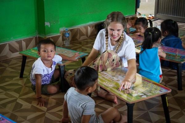 vidaedu voluntariado social criancas laos