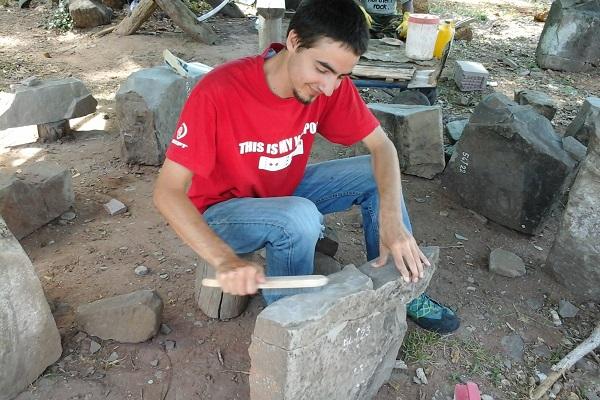 Vidaedu voluntario preservacao templos asia cambodja