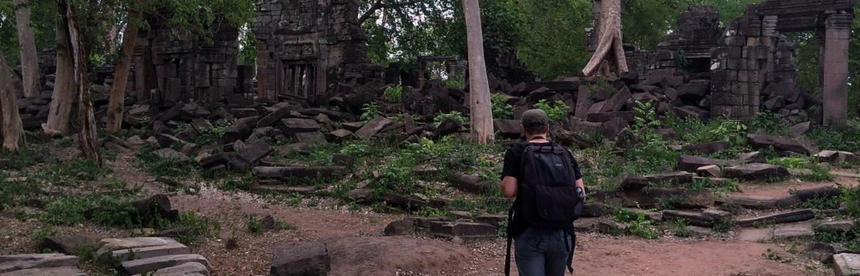 Preservação de Templos no Cambodja