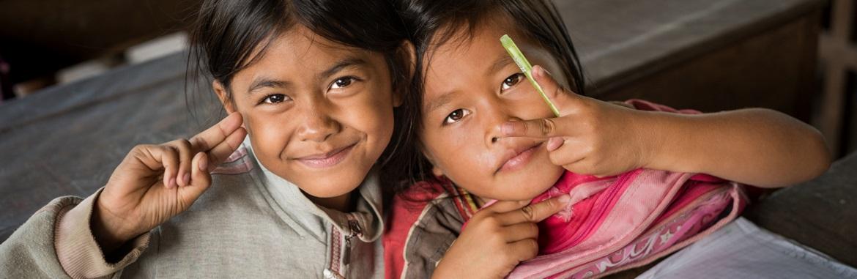 Ensino a Crianças no Cambodja