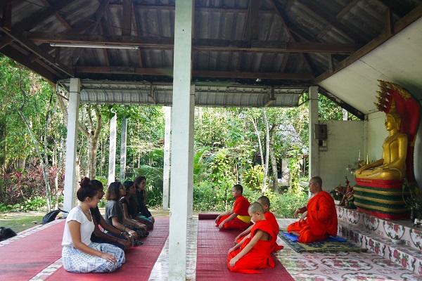 vidaedu voluntariado semana cultural monges laos asia