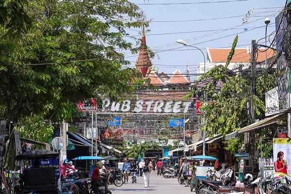 vidaedu voluntariado siem reap pub street cambodja asia