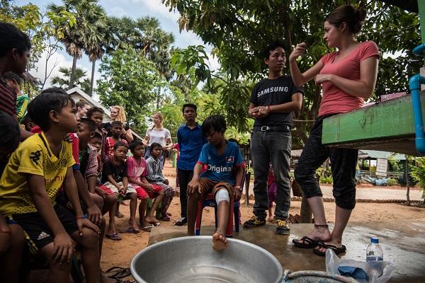 vidaedu voluntariado internacional saude cambodja asia
