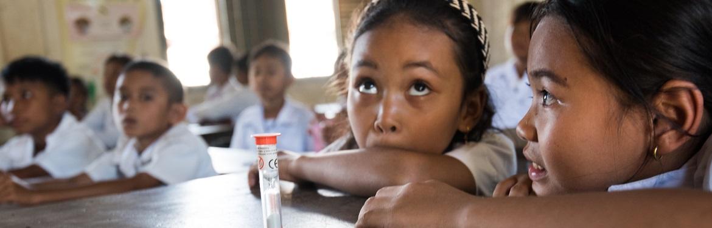 Saúde com a Comunidade no Cambodja