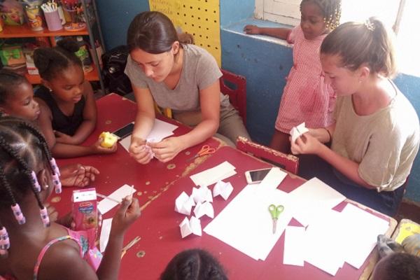 vidaedu projeto voluntariado ensino criancas cabo verde