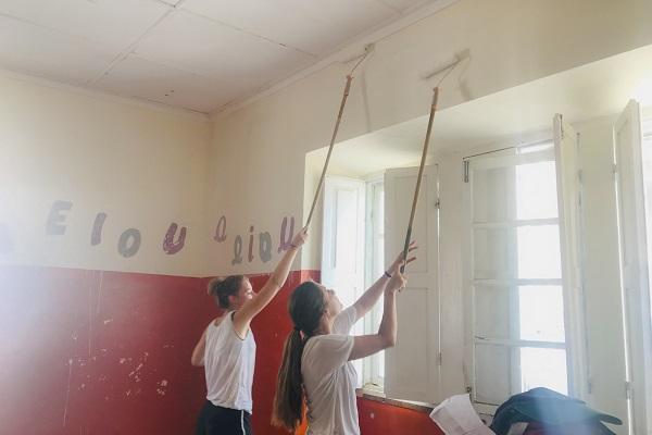 vidaedu voluntariado internacional construcao escolas cabo verde