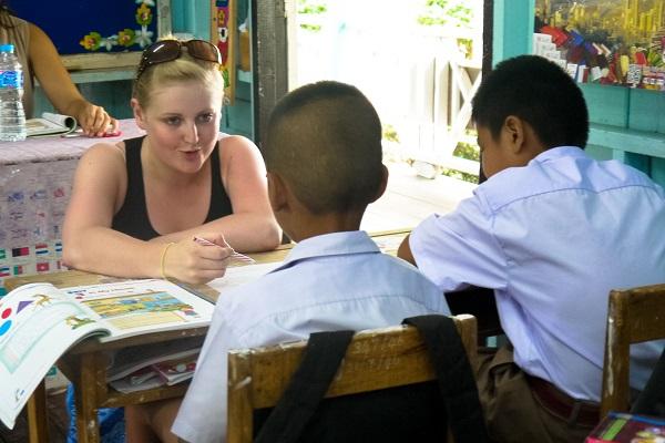 vidaedu voluntariado internacional ensinar ingles tailandia