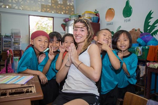 vidaedu voluntariado internacional ensino ingles singburi tailandia