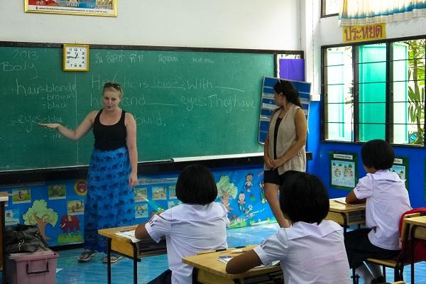 vidaedu volunteer international ensinar ingles tailandia