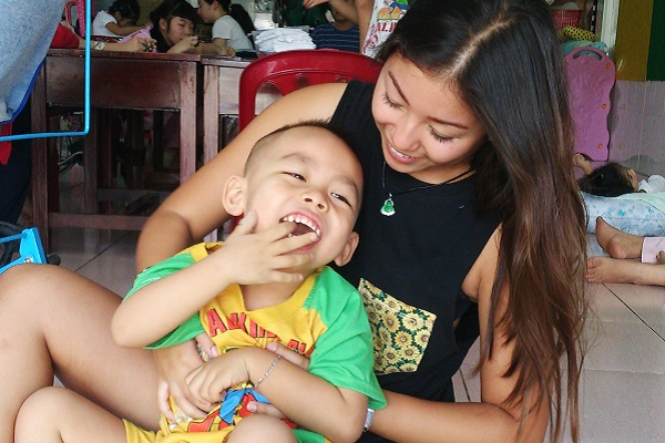 vidaedu voluntariado criancas deficientes vietname asia