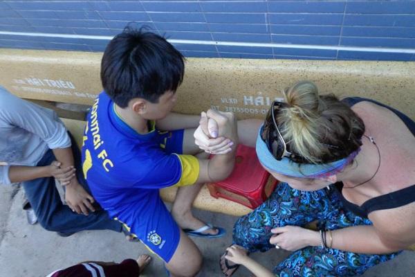 vidaedu voluntariado criancas especiais vietname ho chi minh