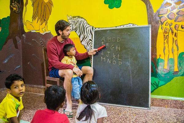 vidaedu voluntariado ensinar criancas goa india asia