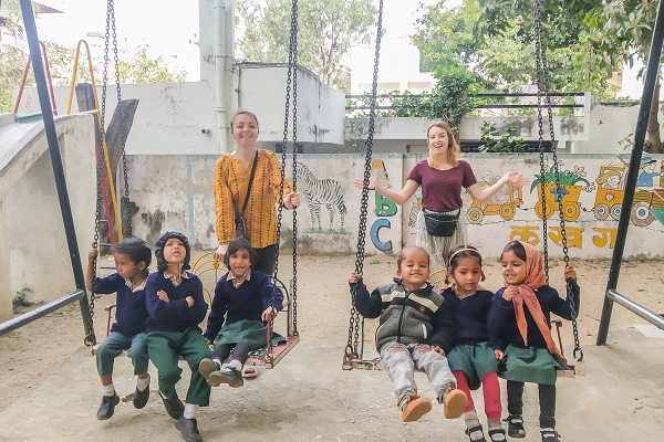 vidaedu voluntariado ensino crianças udaipu india asia