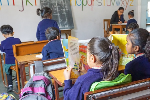 vidaedu voluntariado ensino crianças udaipu rajasthan india asia