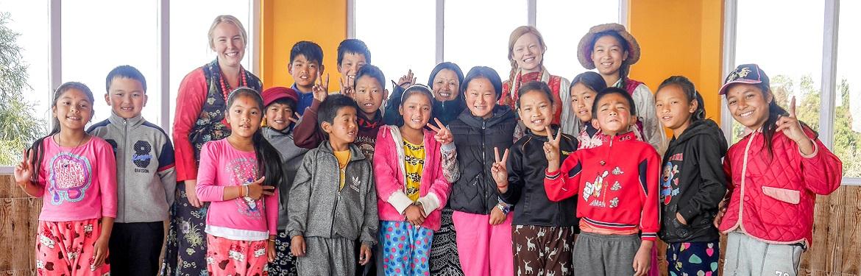 Ensino a Crianças na Índia