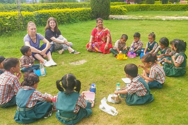 vidaedu voluntariado ingles crianças udaipu rajasthan india