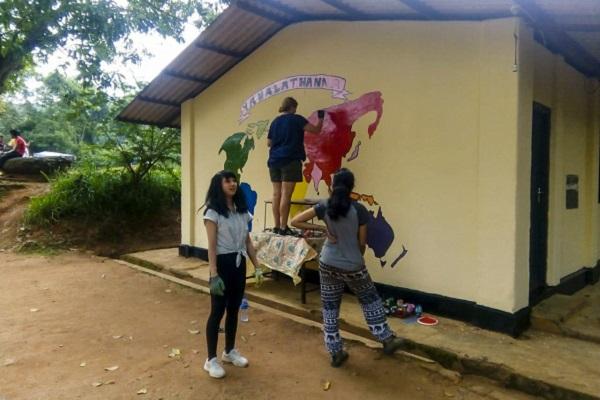 vidaedu kandy renovation voluntariado sri lanka