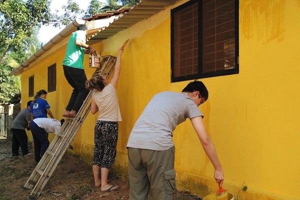 vidaedu voluntariado internacional construcao goa india