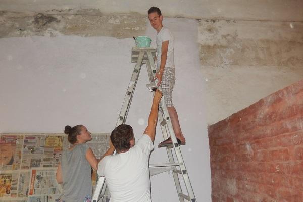vidaedu volunteer internacional construcao comunidades india