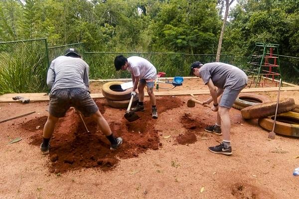 vidaedu volunteer international renovation kandy sri lanka
