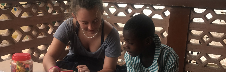 Projeto Ensino a Crianças no Gana