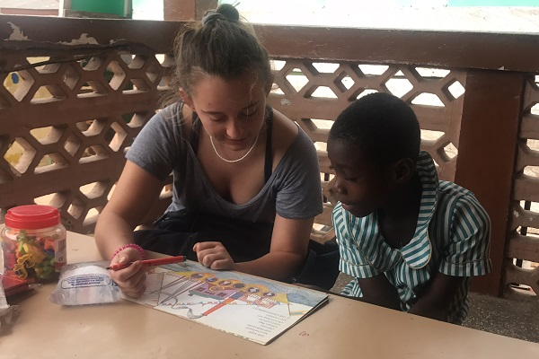 vidaedu ensino criancas voluntariado internacional gana
