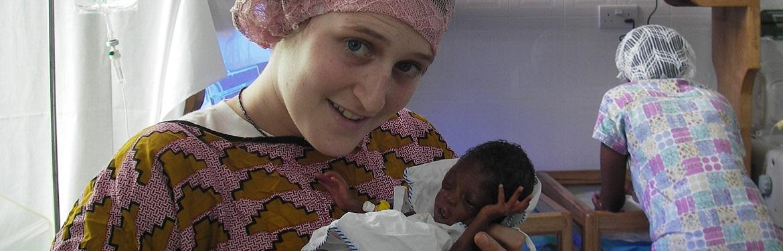 Projeto Saúde com a Comunidade no Gana