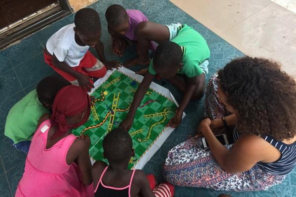 vidaedu social criancas gana volunteer international gana africa