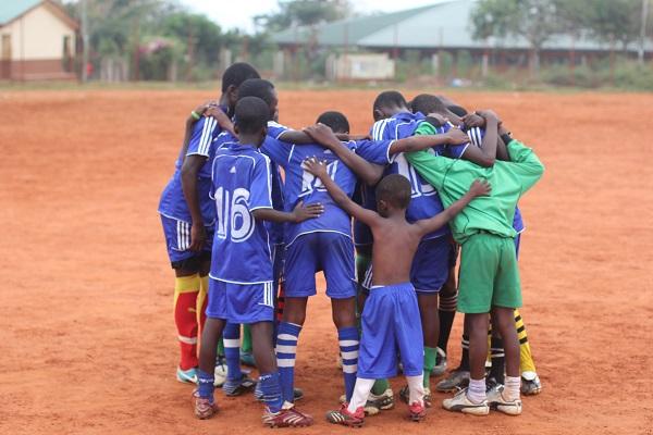 vidaedu voluntariado desporto team gana africa