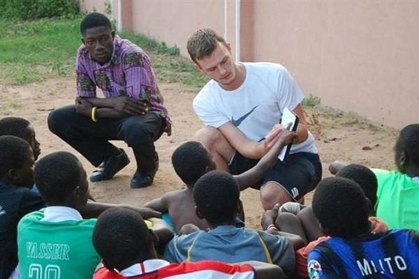 vidaedu voluntariado internacional coach gana africa