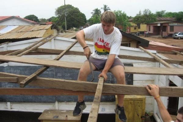 vidaedu voluntariado internacional construcao renovacao gana africa
