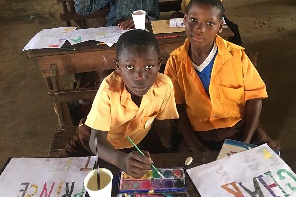 vidaedu voluntariado internacional criancas acra gana