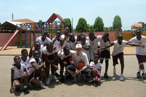 vidaedu voluntariado internacional desporto criancas gana