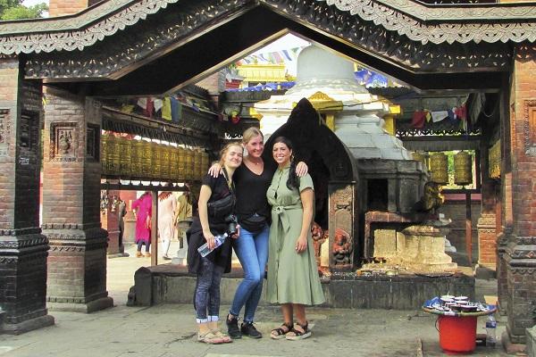 vidaedu voluntariado internacional culture templo katmandu nepal