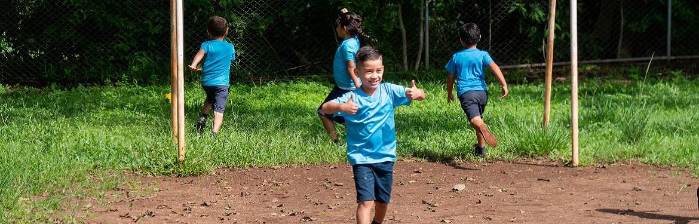 Desporto com Crianças na Costa Rica