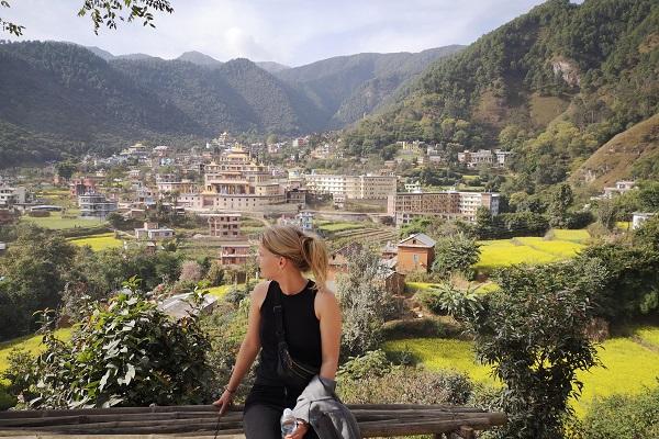 vidaedu voluntariado internacional ensino monges nepal