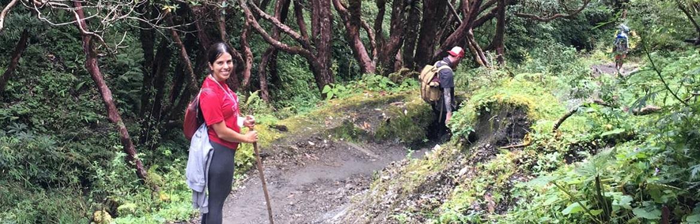 Trekking nos Himalaias no Nepal