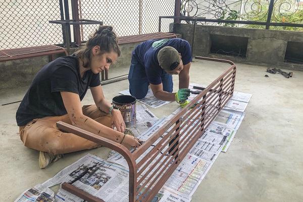 vidaedu volunteer international renovation katmandu nepal